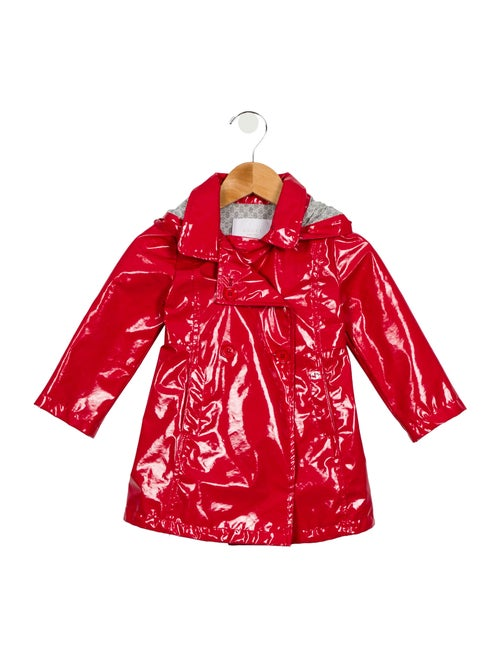 ad25eadf Girls' Double-Breasted Raincoat