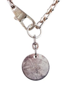 3071d0ccd Gucci. Round Tag Pendant Necklace