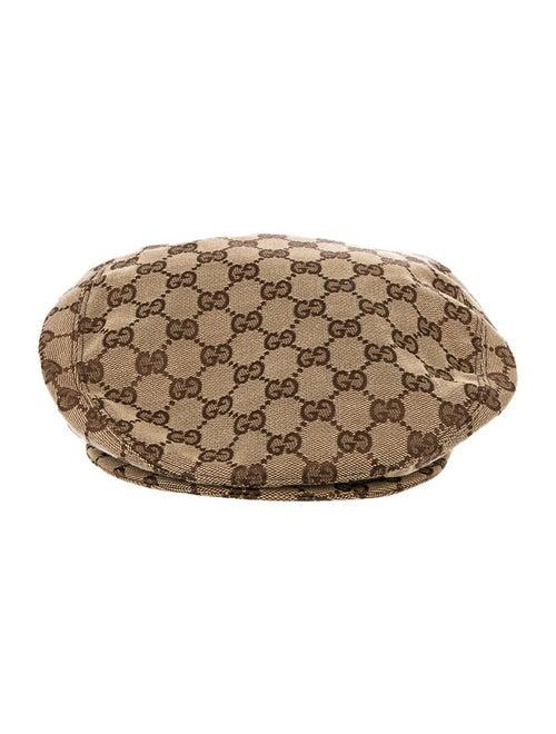 5d5b135bf99 Gucci GG Canvas Newsboy Hat - Accessories - GUC33560
