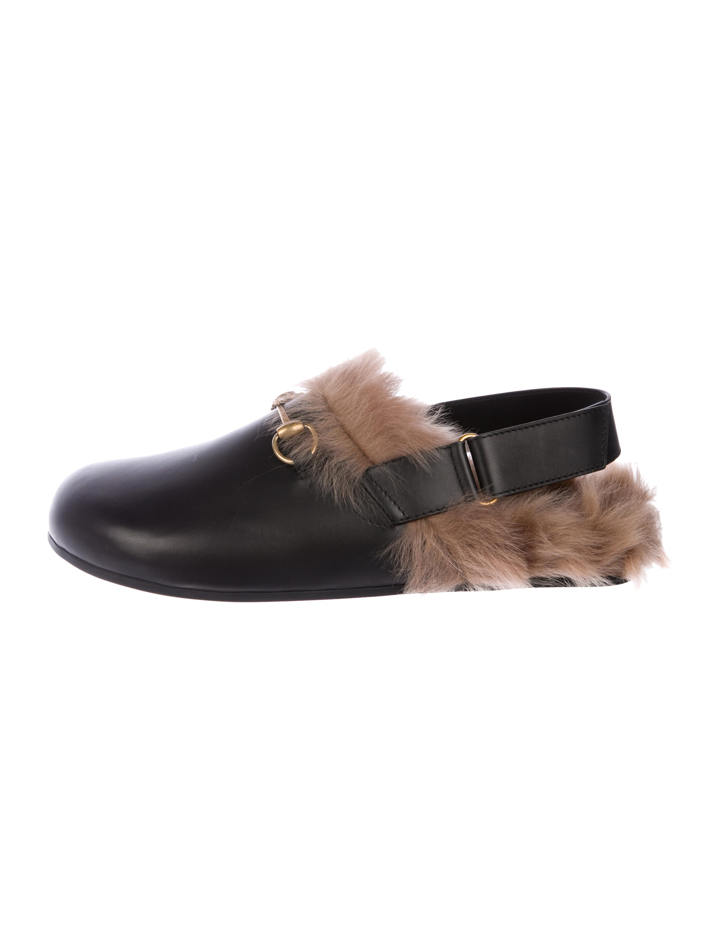 556a05fba Gucci Leather Slippers w/ Tags - Shoes - GUC337674 | The RealReal