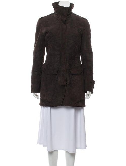 Gucci Shearling Longline Jacket