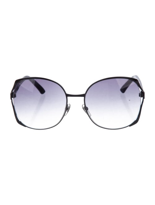 Overisize Gradient Sunglasses by Gucci