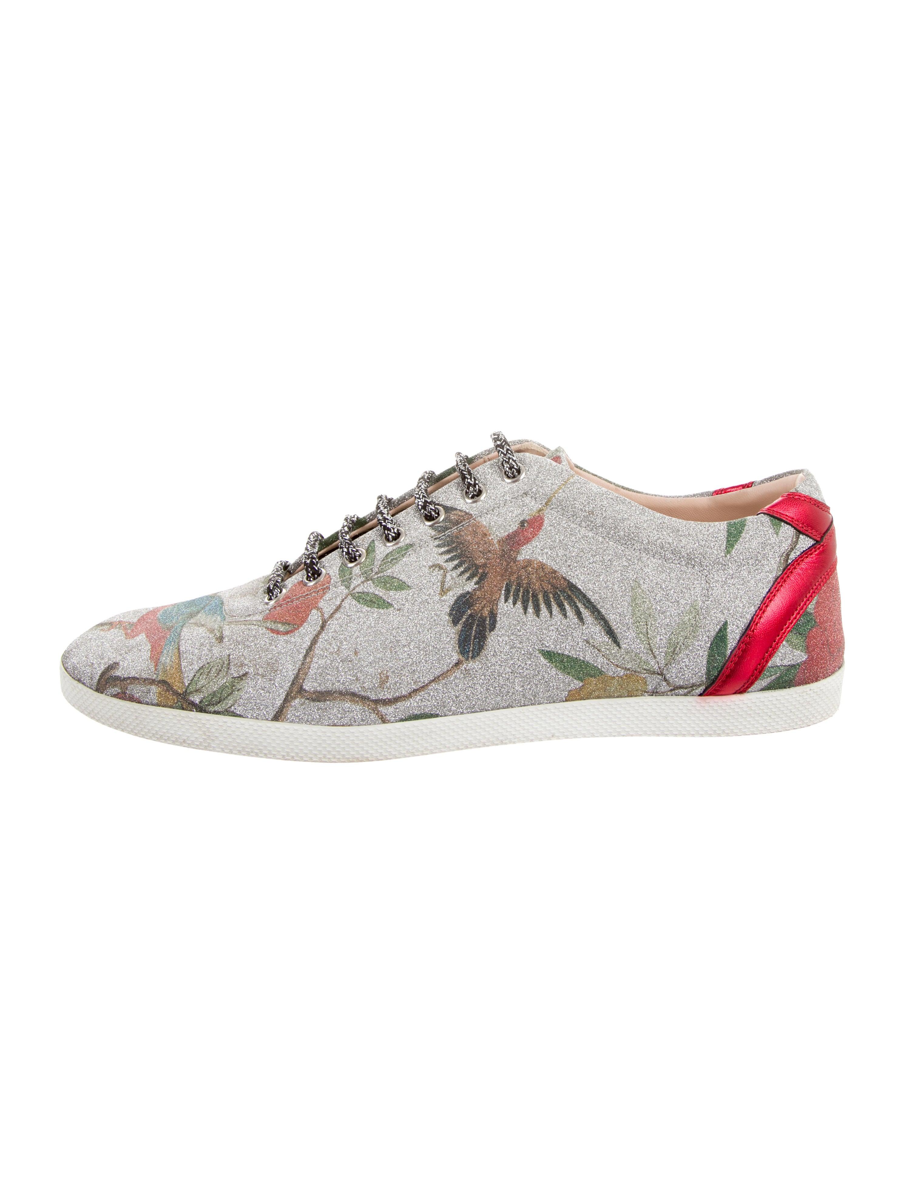 Gucci Bambi Tian Glitter Sneakers