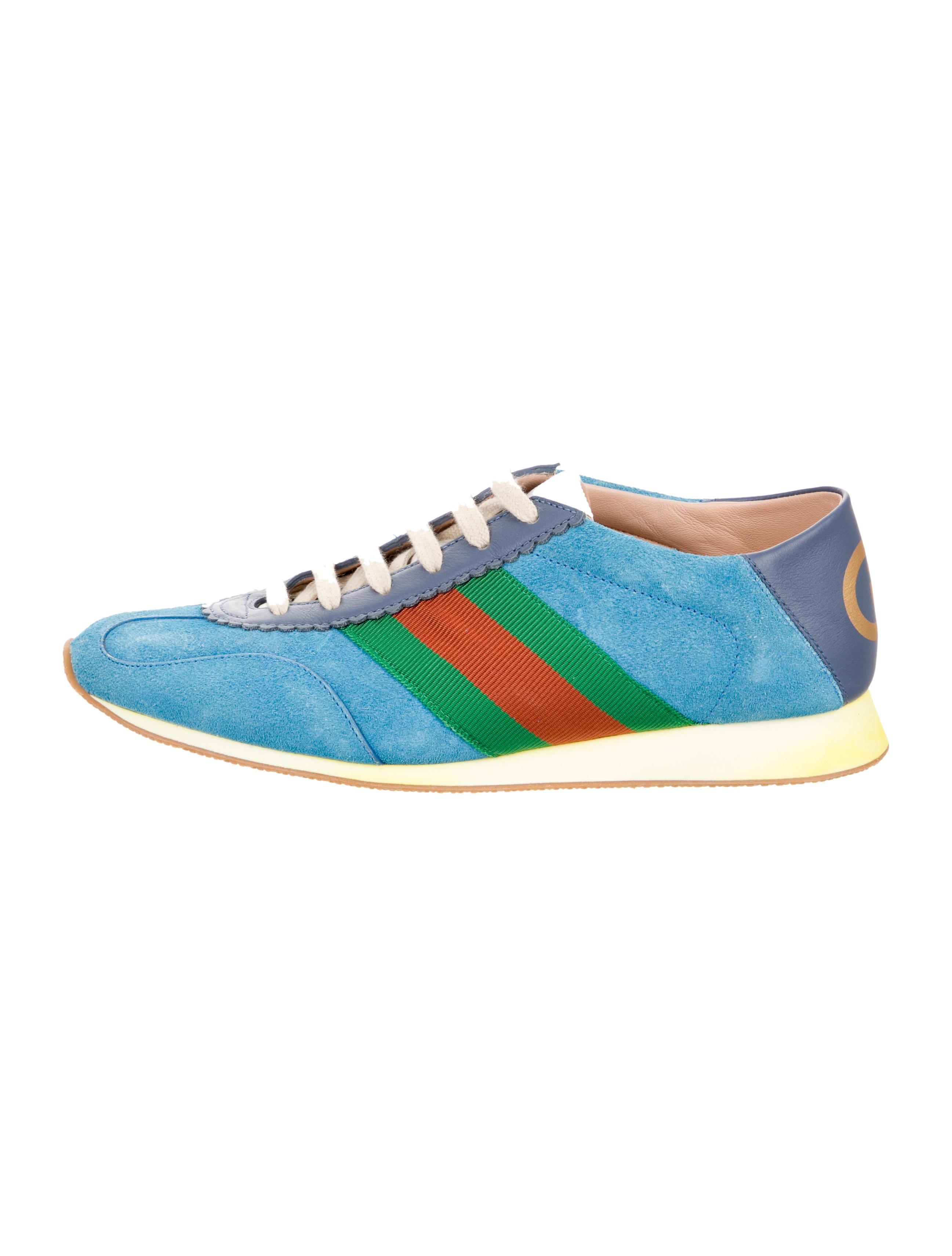 Gucci Rocket Suede Sneaker - Shoes