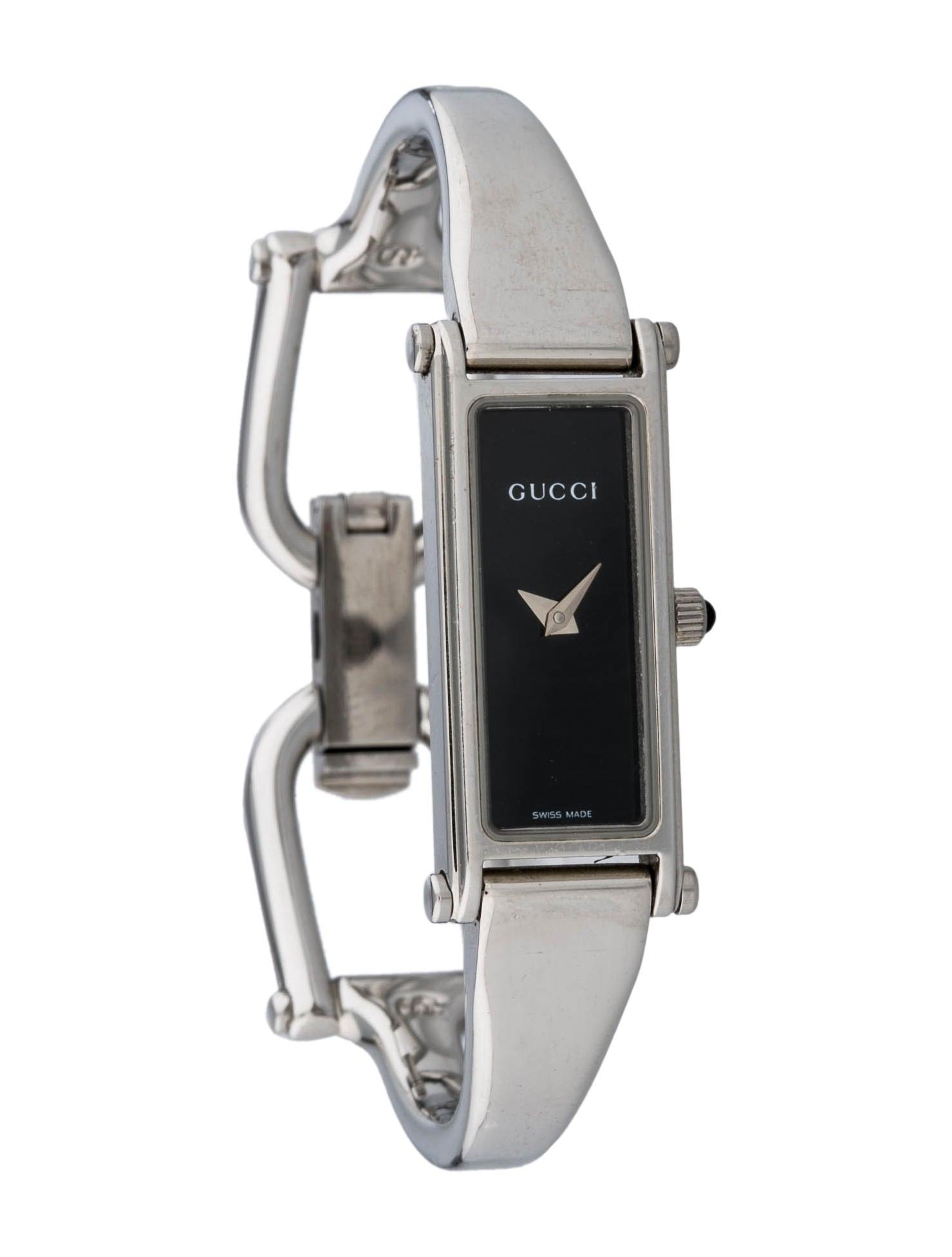 320168fc5f3 Gucci 1500L Watch - Bracelet - GUC38705