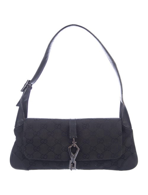 Small Gg Canvas Hobo by Gucci