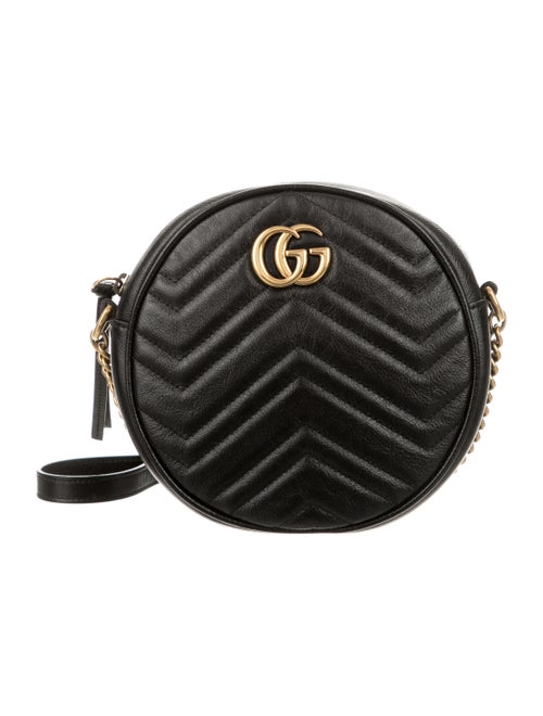 2019 Mini Gg Marmont Round Shoulder Bag by Gucci