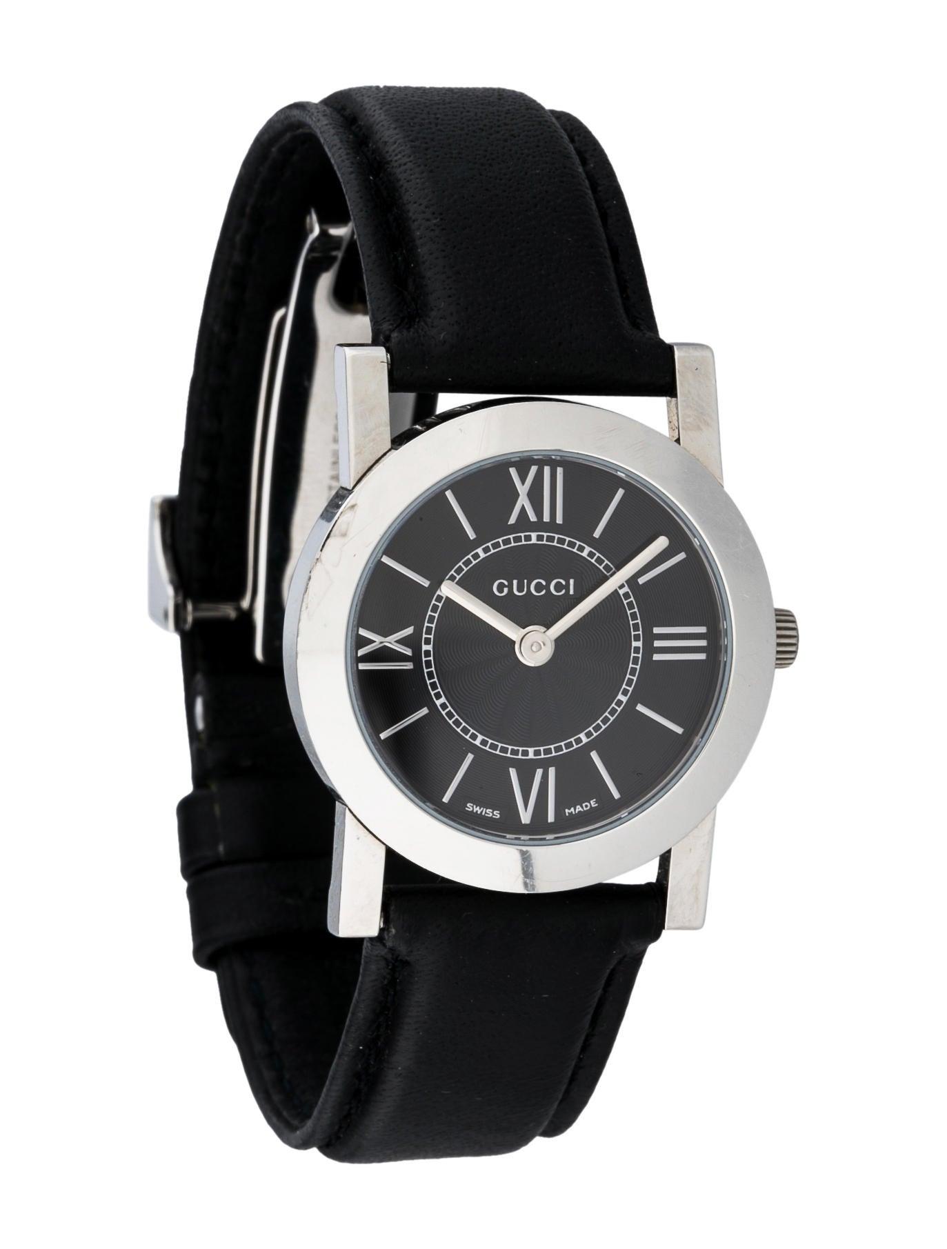 Gucci 5200 L 1 Quartz Watch Strap Guc40841 The Realreal