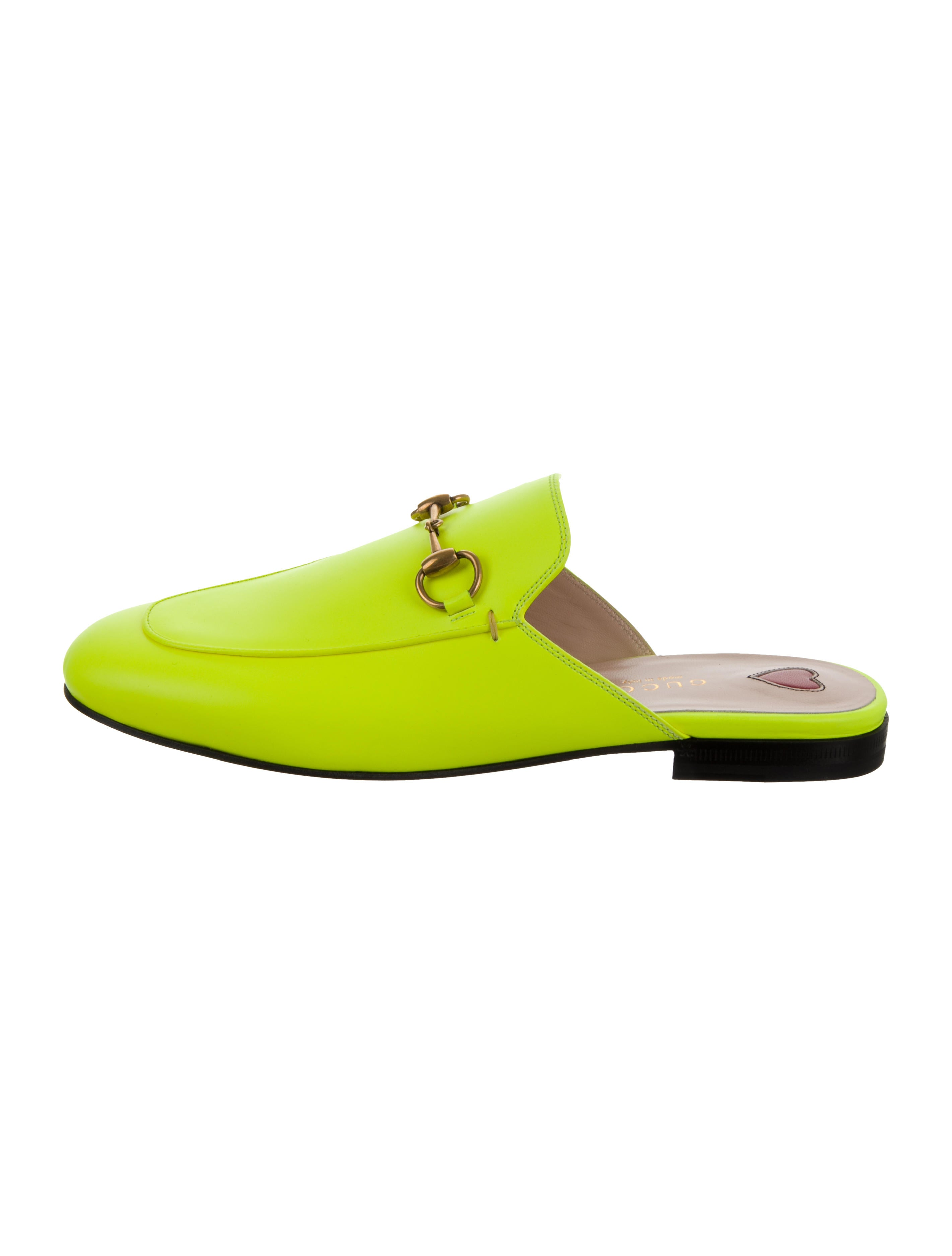 gucci neon princetown
