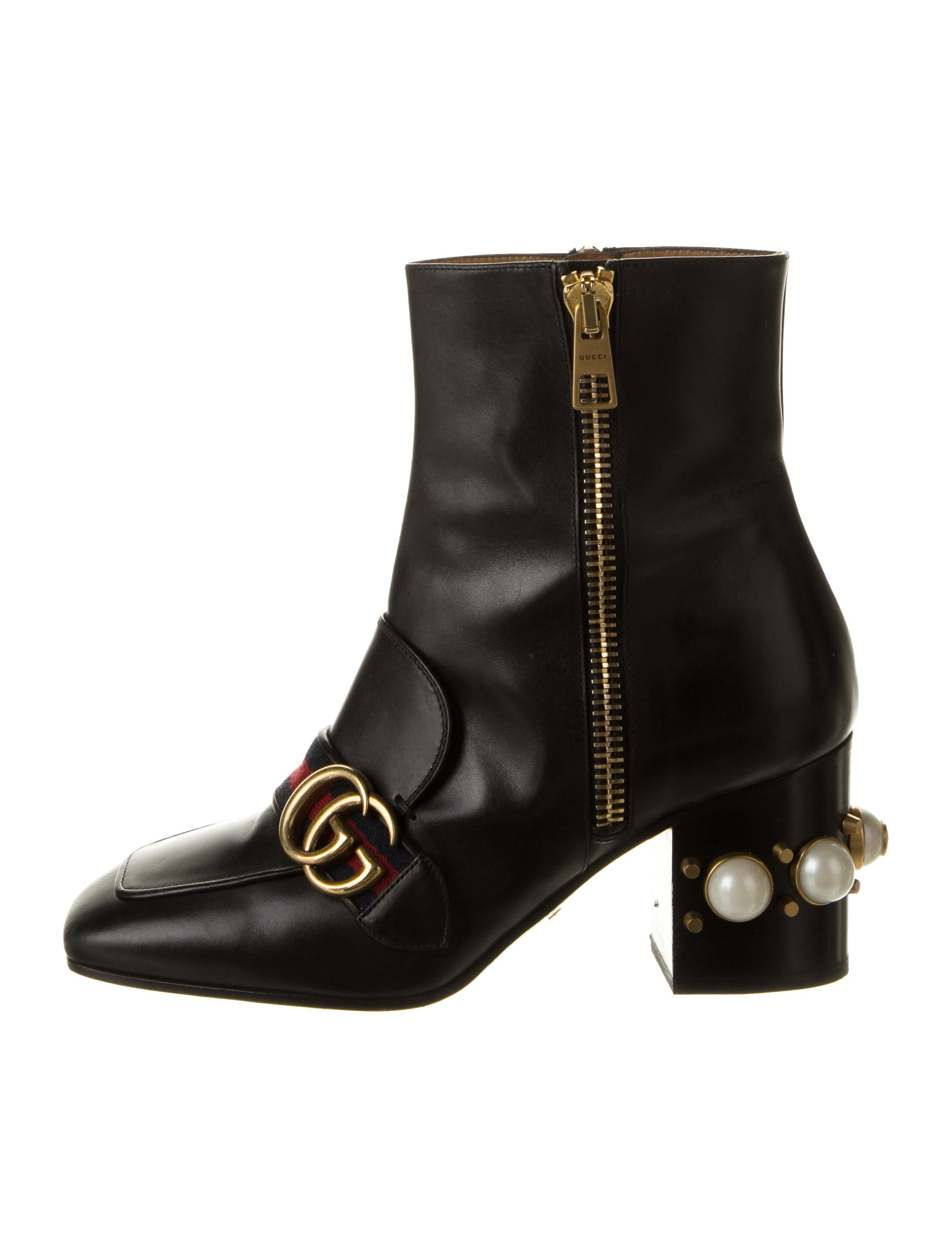 Gucci Peyton Ankle Boots - Shoes