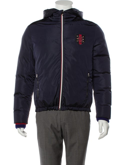 Gucci Web Patch Hooded Jacket