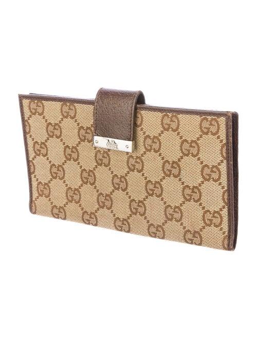 05c741e6c9b2 Gucci GG Canvas Checkbook Cover - Accessories - GUC43138 | The RealReal