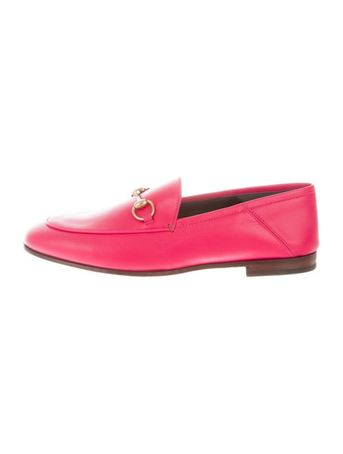 Gucci Brixton Horsebit Loafers w/ Tags pink