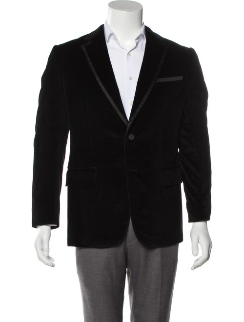 Gucci Corduroy Tuxedo Jacket black