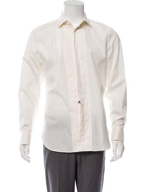 Gucci Pleated Tuxedo Shirt w/ Tags