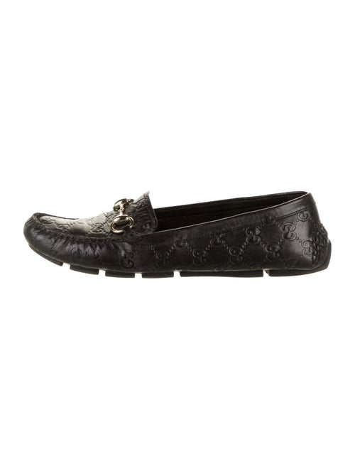 Gucci Signature GG Loafers Black