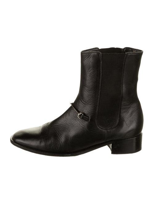 Gucci Horsebit Ankle Boots Black