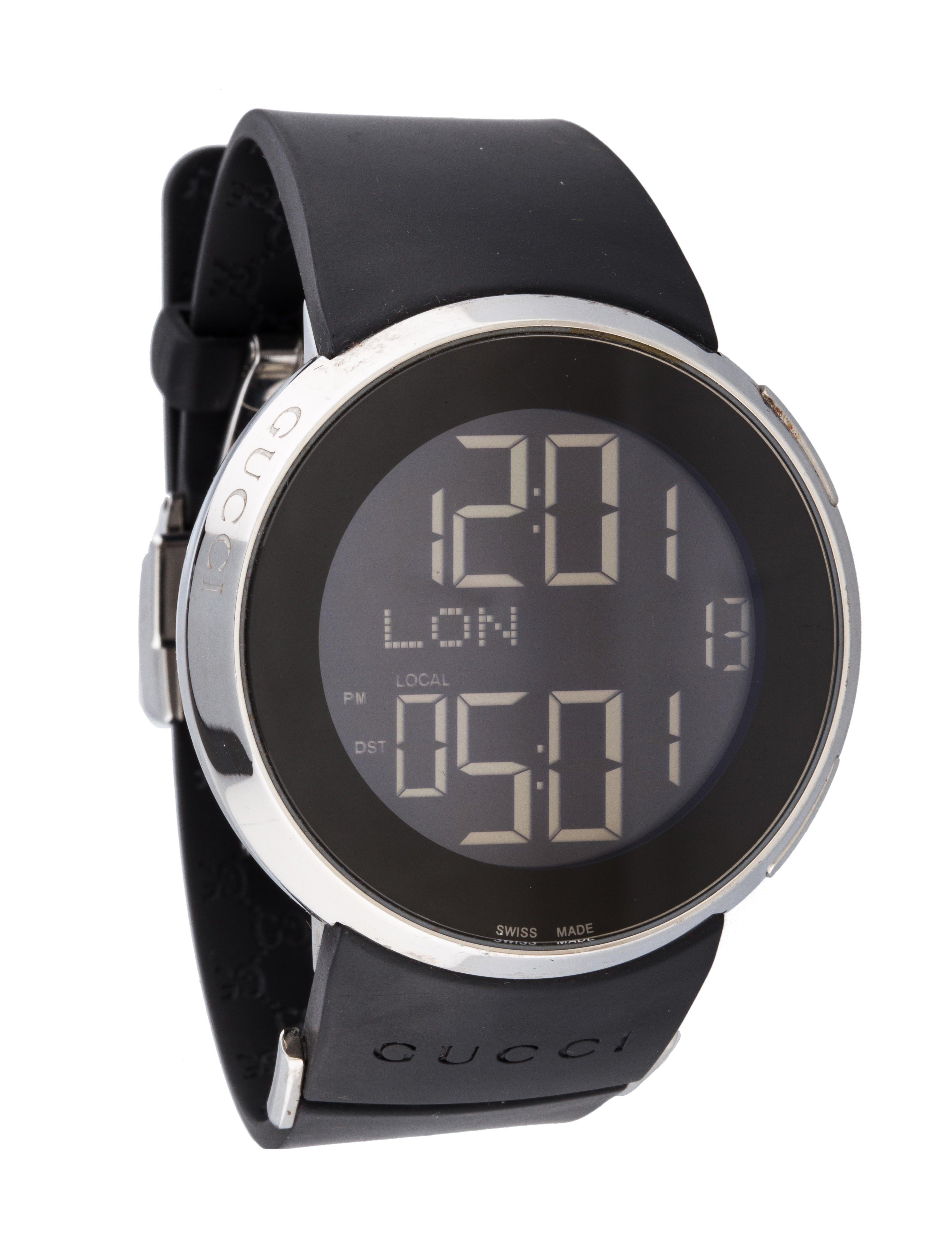 189b3922d6d Gucci Digital Watch YA114202 - Bracelet - GUC45151