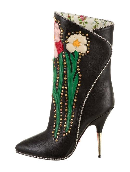 Gucci 2017 Fosca Boots Black