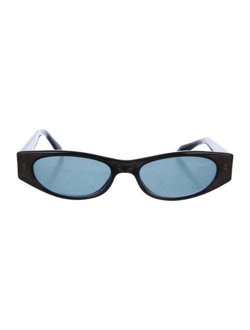 Gucci Gucci Narrow Logo Sunglasses Black