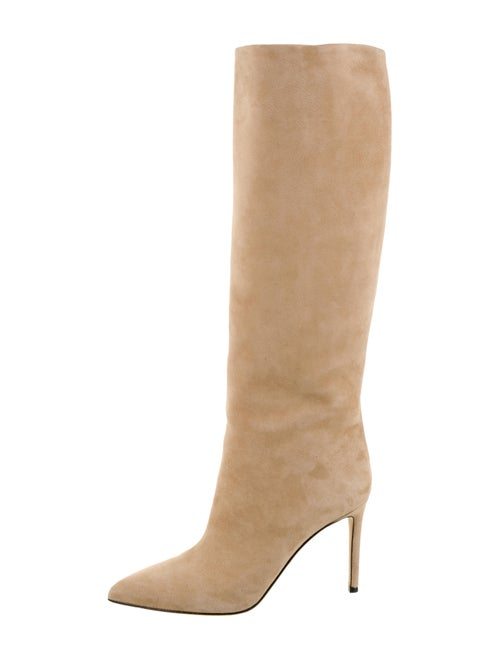 Gucci Suede Pointed-Toes Boots