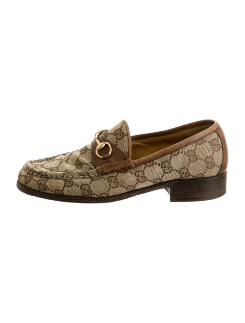 Gucci GG Horsebit Loafers Tan
