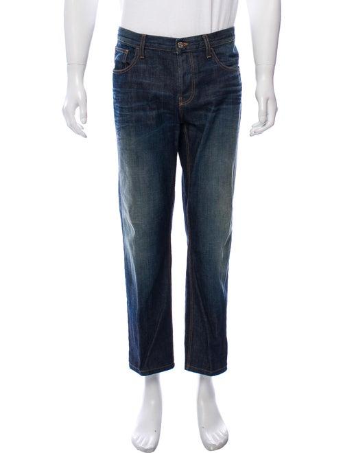 Gucci Straight-Leg Jeans blue