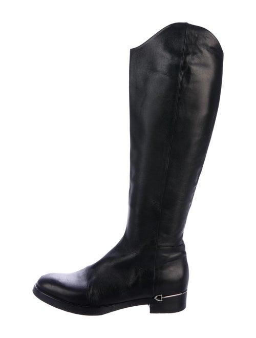 Gucci Horsebit Knee-High Boots Black