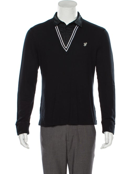 Gucci Knit Polo Shirt black