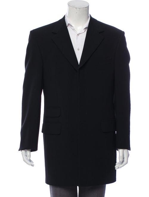 Gucci Wool Top Coat black