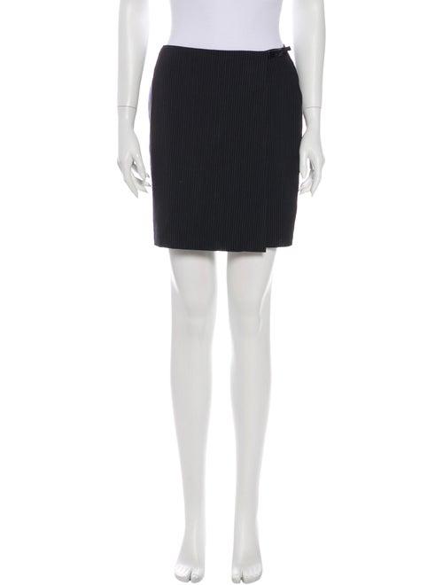Gucci Wool Mini Skirt Wool