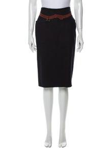 Gucci Vintage Knee-Length Skirt
