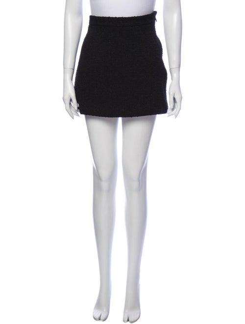 Gucci 2015 Mini Skirt Black