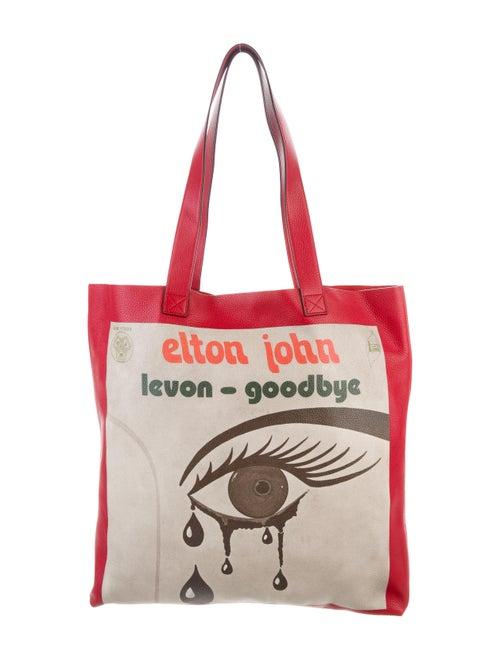 Gucci Elton John Levon-Goodbye Tote red