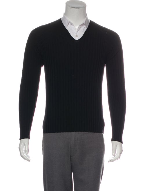 Gucci Wool V-Neck Pullover Wool