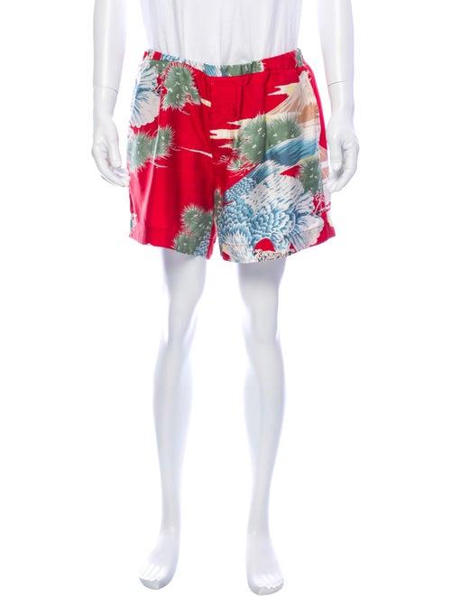 Gucci Silk Printed Shorts multicolor