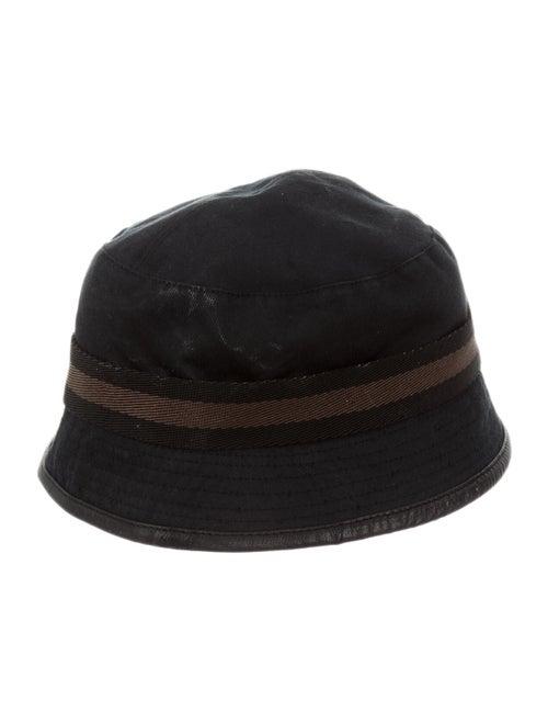 Gucci Canvas Bucket Hat Black