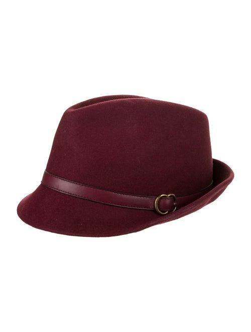 Gucci Rabbit Fedora Hat bronze