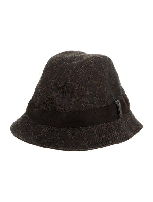 Gucci GG Canvas Bucket Hat Brown