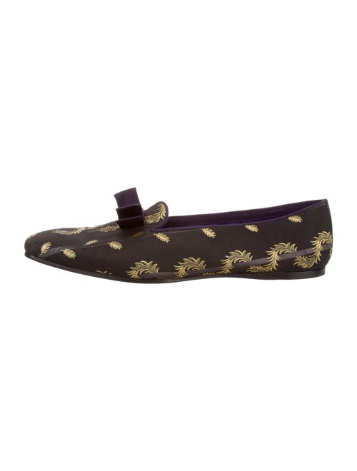 Gucci Printed Slippers Black