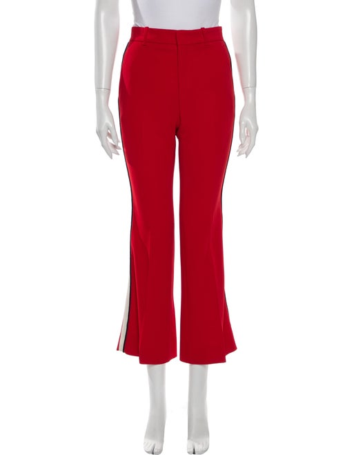 Gucci Flared Pants Red