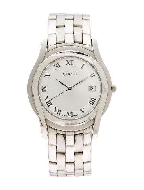 Gucci 5500 Series Watch silver
