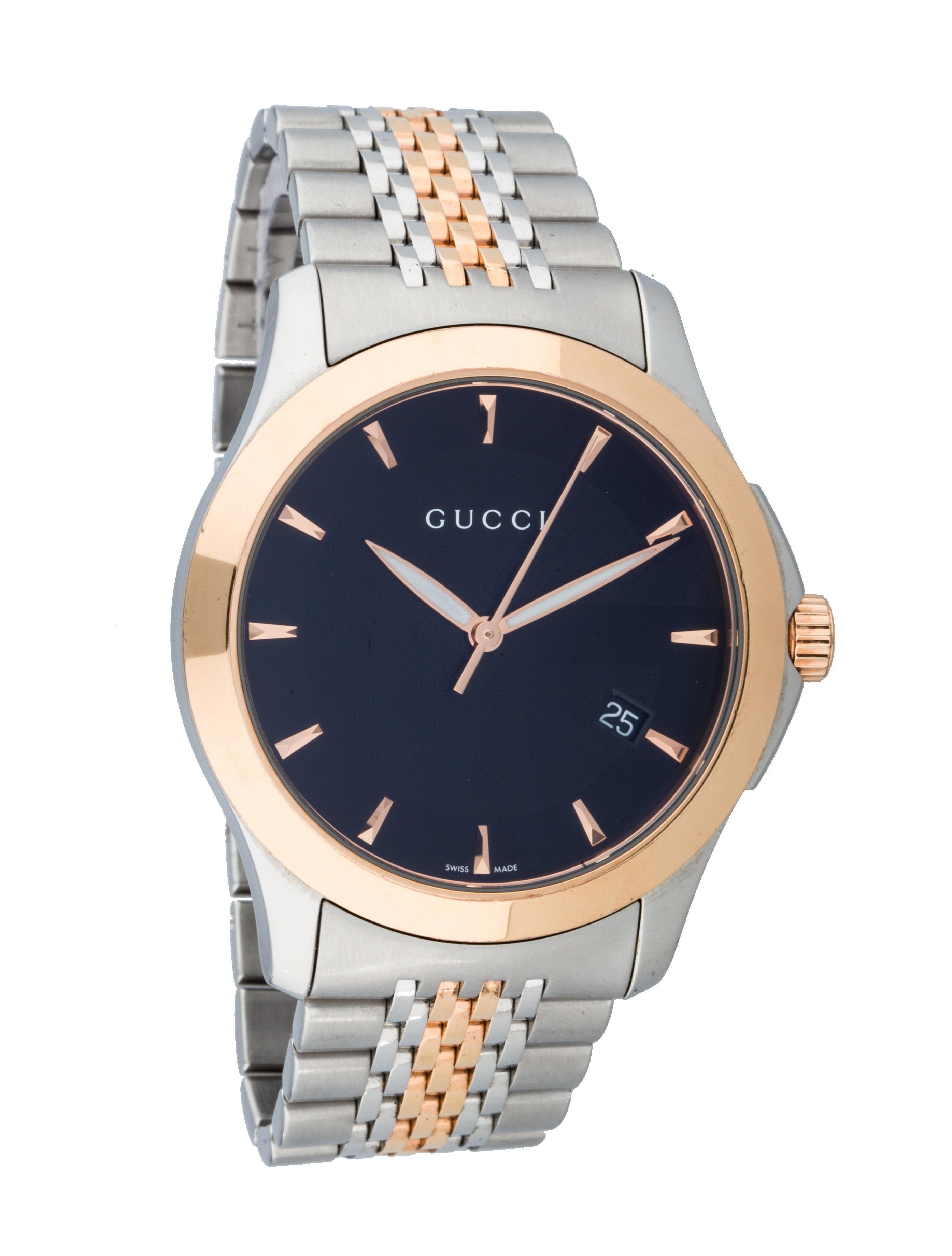 36516ce8c98 Gucci 126.4 Timeless Watch - Bracelet - GUC47937