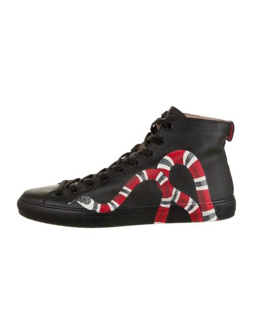 Gucci Kingsnake Sneakers w/ Tags Black