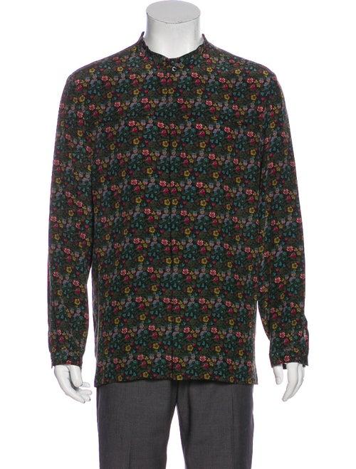 Gucci 2016 Silk Shirt Green