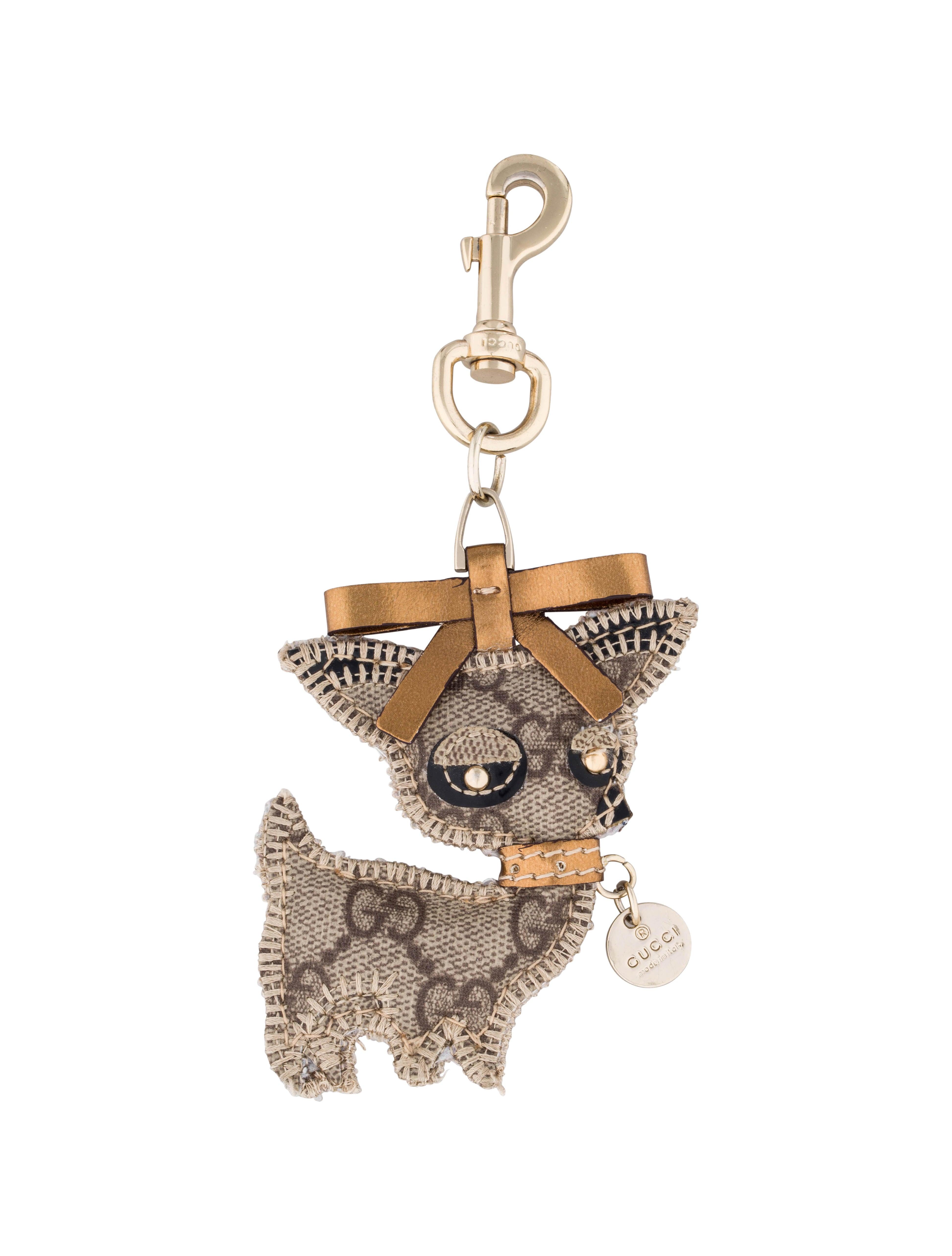 Gucci Chihuahua Keychain Accessories Guc48130 The Realreal