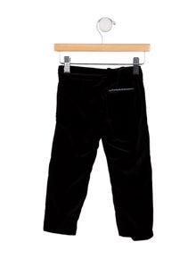 Gucci Boys' Velvet Straight-Leg Pants