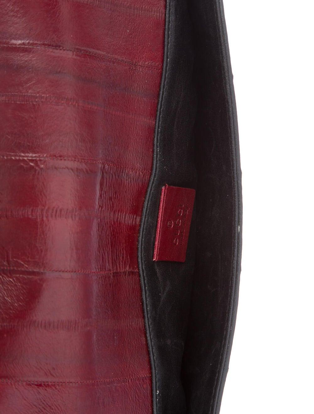 Gucci Eel Skin Clutch black - image 5