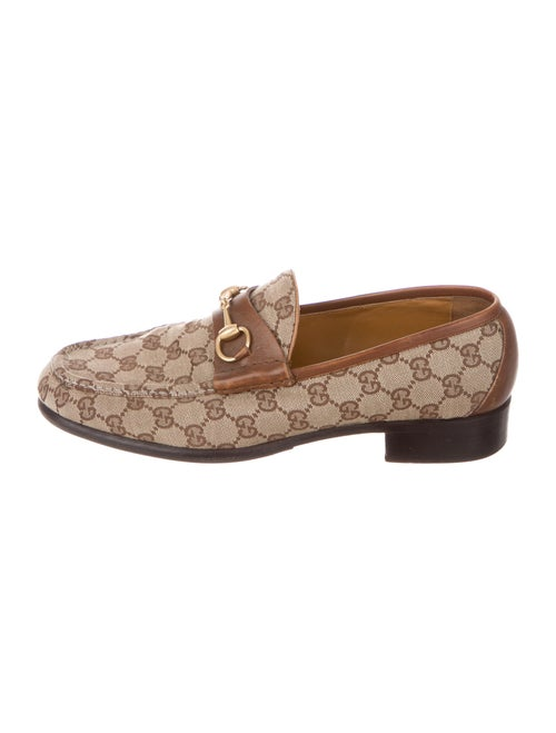 Gucci Printed Loafers