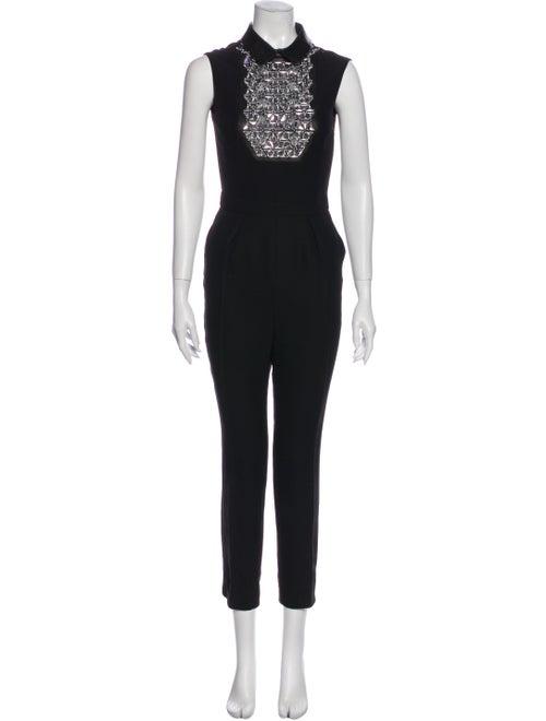 Gucci Silk Jumpsuit Black